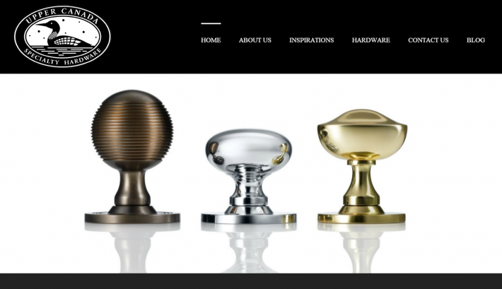 Website Launch: Upper Canada Specialty Hardware