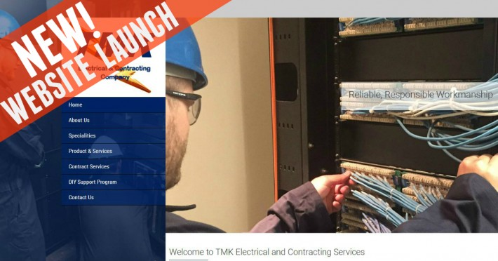 Website Launch: TMK Electrical