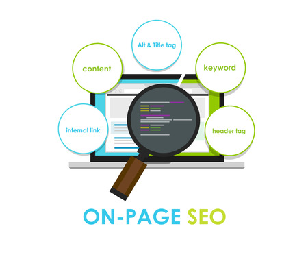 40567458 - on page seo search engine optimization on-page meta title
